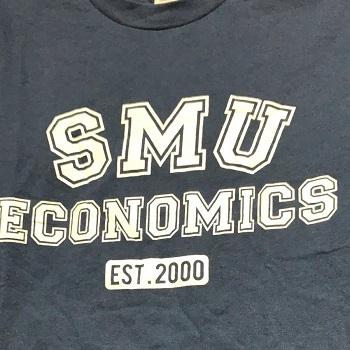 SMU Economics silk screen t shirt