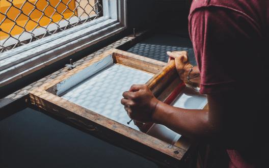 silkscreenprint-process
