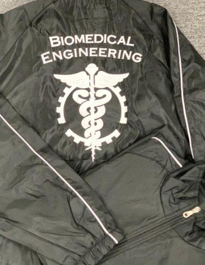 Impressive Embroidery on Black Jacket