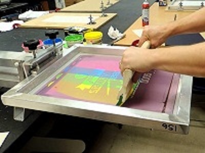 Silk-Screen-Printing